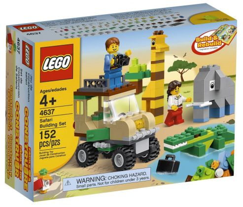 LEGO Juniors 4637 Set de construction LEGO Safari