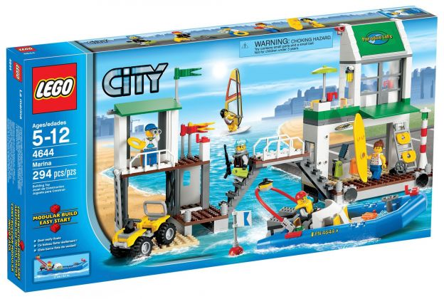 LEGO City 4644 Le port de plaisance