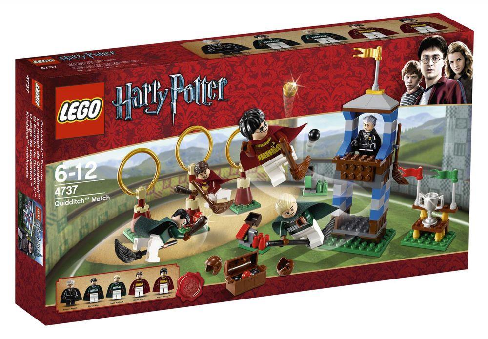 lego harry potter 4737 pas cher le match de quidditch. Black Bedroom Furniture Sets. Home Design Ideas