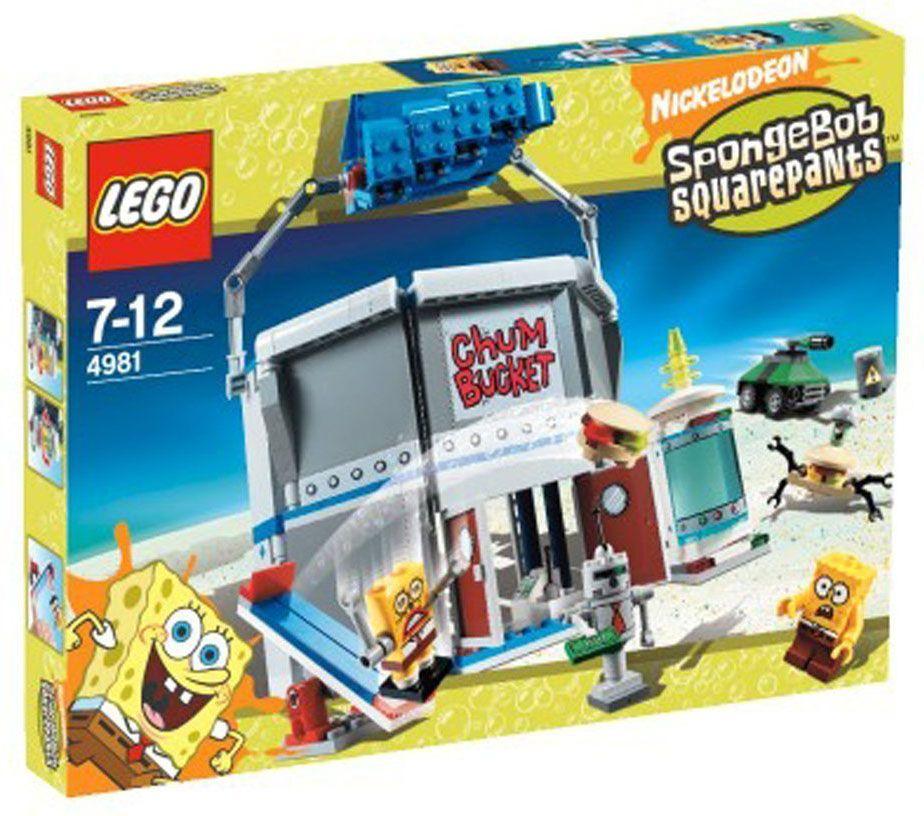 Lego bob l 39 ponge 4981 pas cher le chum bucket - Basket bob l eponge ...