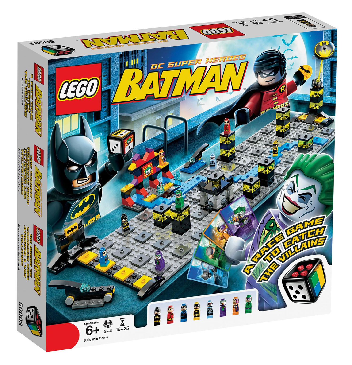 lego jeux de soci t 50003 pas cher batman. Black Bedroom Furniture Sets. Home Design Ideas