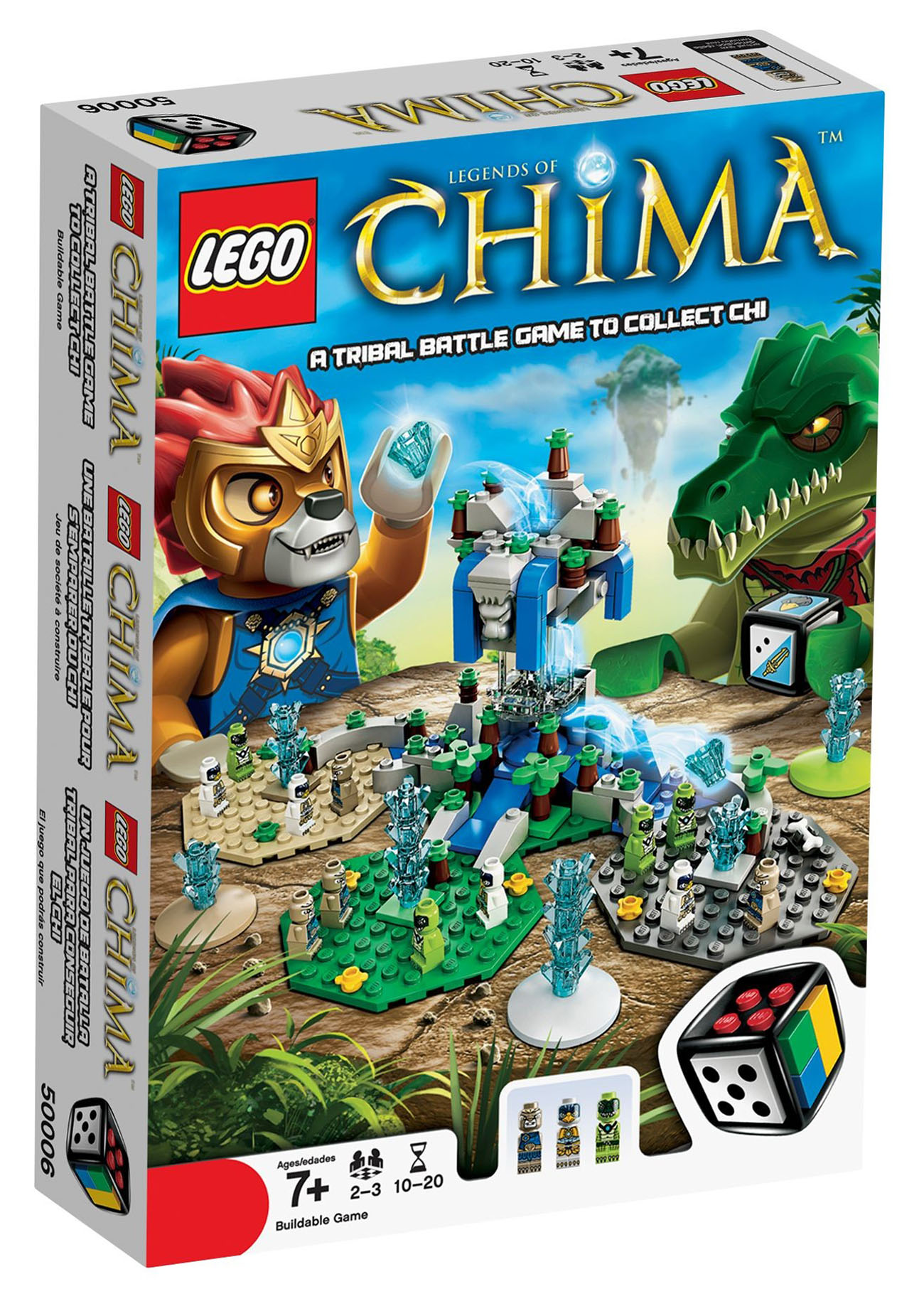 lego jeux de soci t 50006 pas cher lego legends of chima. Black Bedroom Furniture Sets. Home Design Ideas