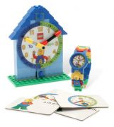 LEGO Horloges & Réveils  5001370 Montre et horloge figurine LEGO Time-Teacher