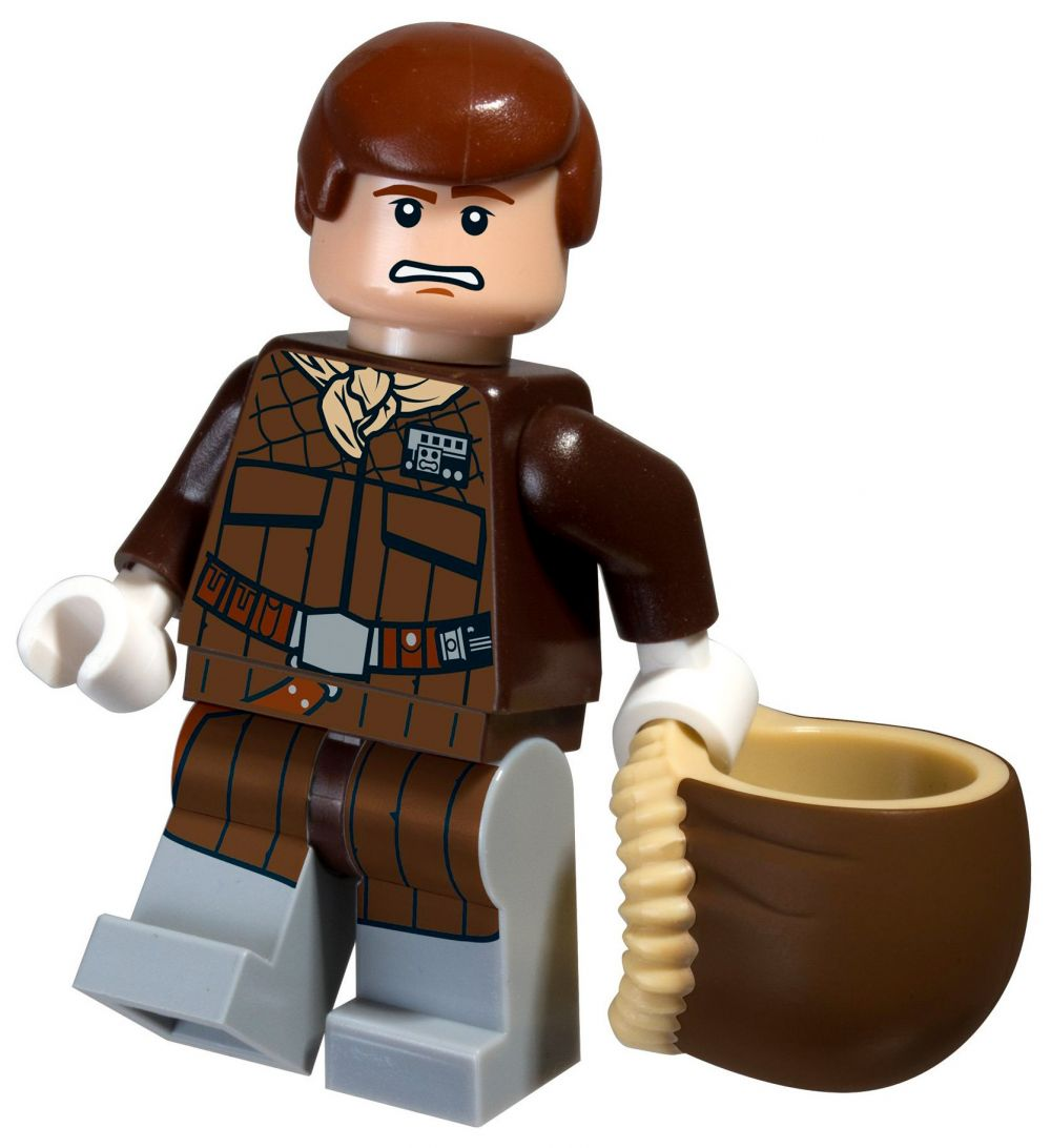 Lego star wars 5001621 pas cher han solo hoth polybag - Vaisseau star wars han solo ...