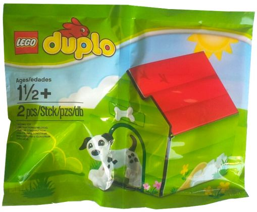 LEGO Duplo 5002121 Puppy and Kennel (Polybag)