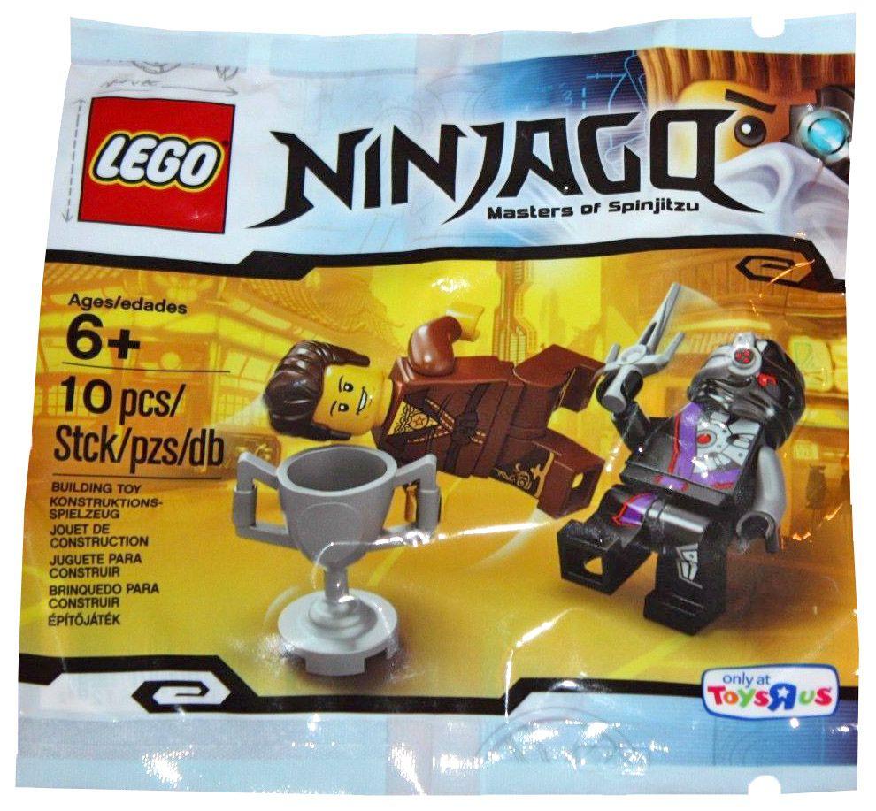 Lego ninjago 5002144 pas cher dareth vs nindroid polybag - Lego ninjago le grand devoreur ...