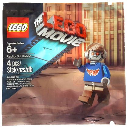 LEGO The LEGO Movie 5002203 Radio DJ Robot (Polybag)