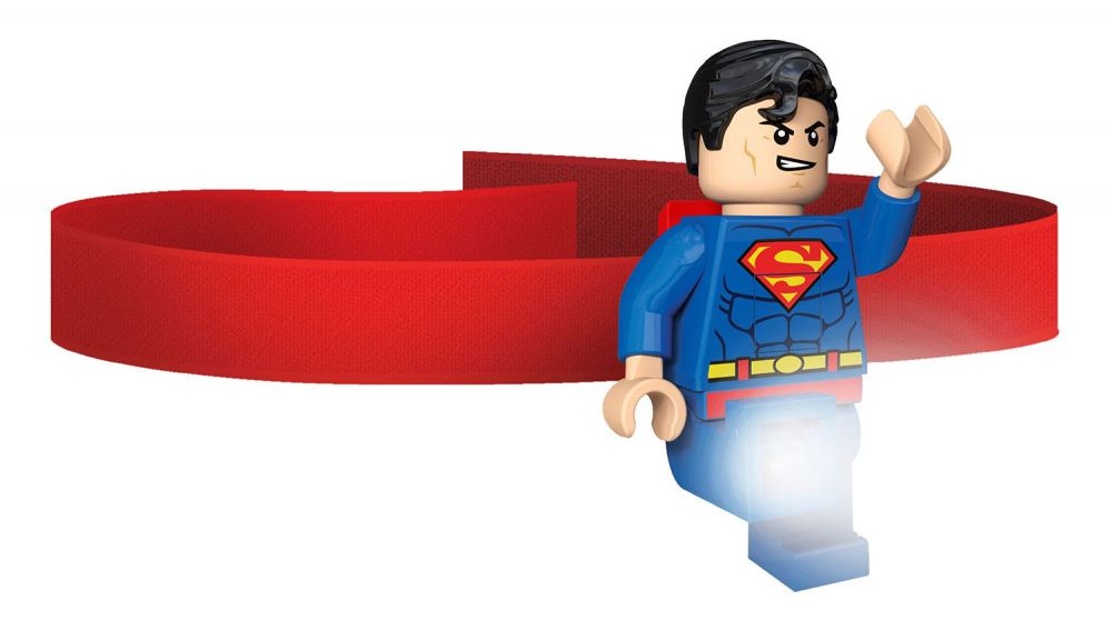 lego lampes 5003582 pas cher lampe frontale lego superman. Black Bedroom Furniture Sets. Home Design Ideas