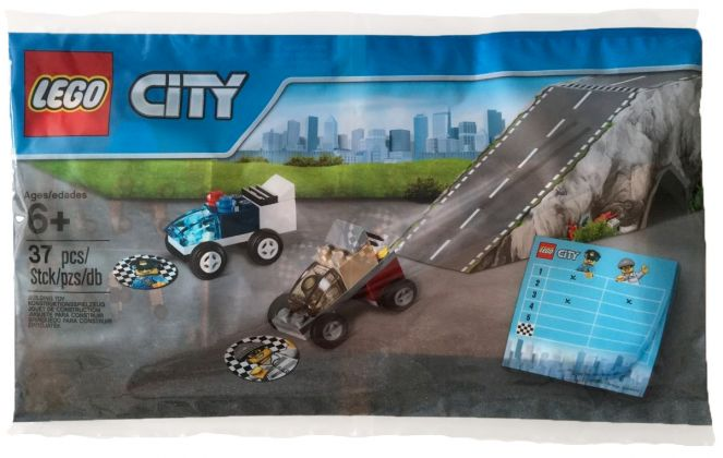 LEGO City 5004404 Course-poursuite avec la police (Polybag)