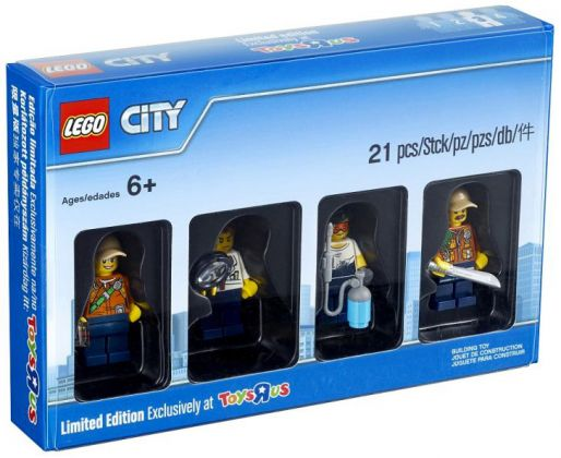 LEGO Objets divers 5004940 Bricktober 2017 LEGO City [Exclusive Minifigures  Toys'R'Us]