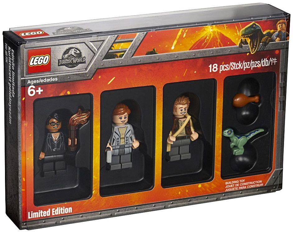 Bricktober 2018 LEGO Jurassic World [Exclusive Minifigures Toys\'R\'Us]
