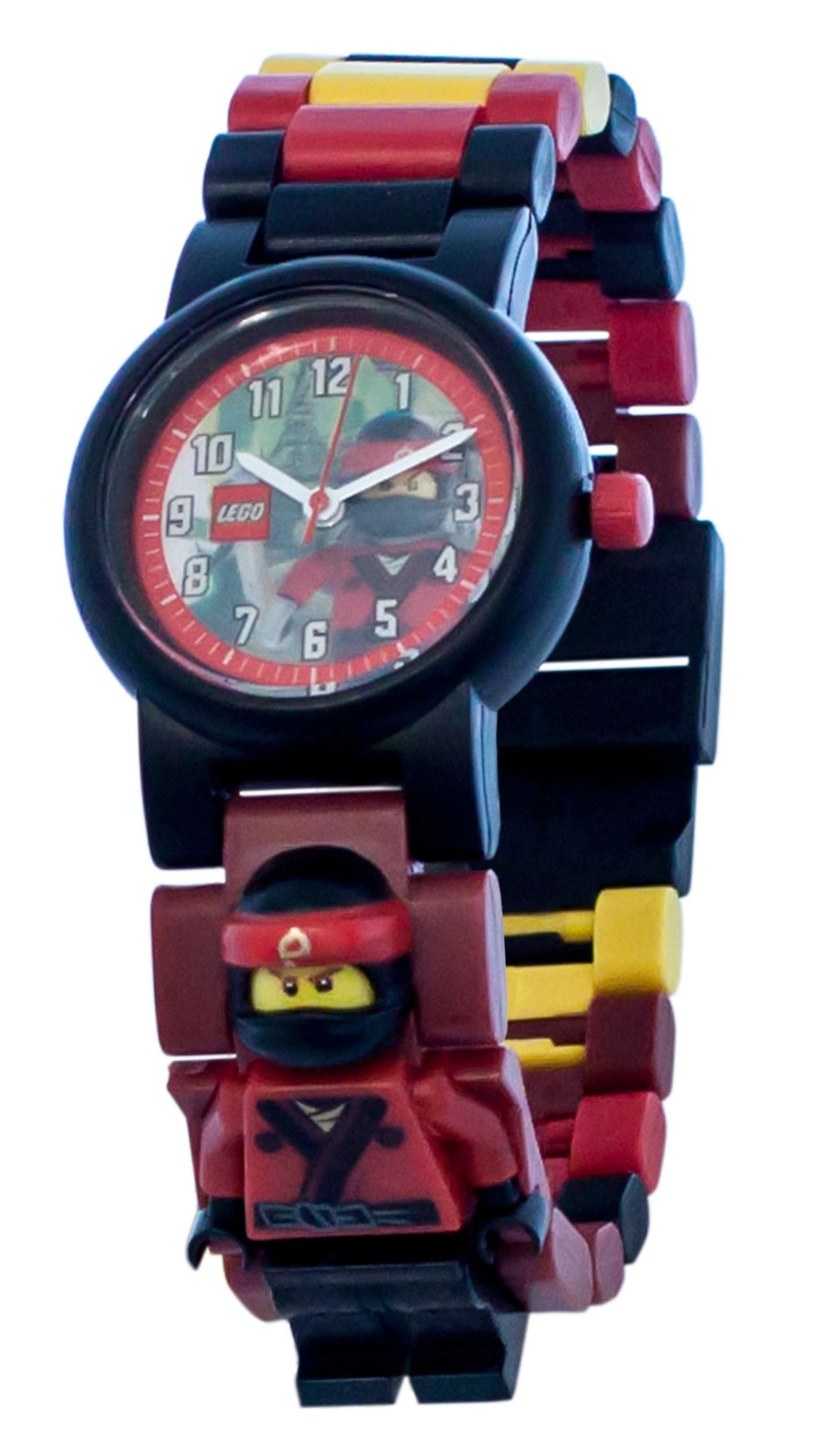 lego montres 5005369 pas cher montre bracelet figurine kai de lego ninjago le film. Black Bedroom Furniture Sets. Home Design Ideas