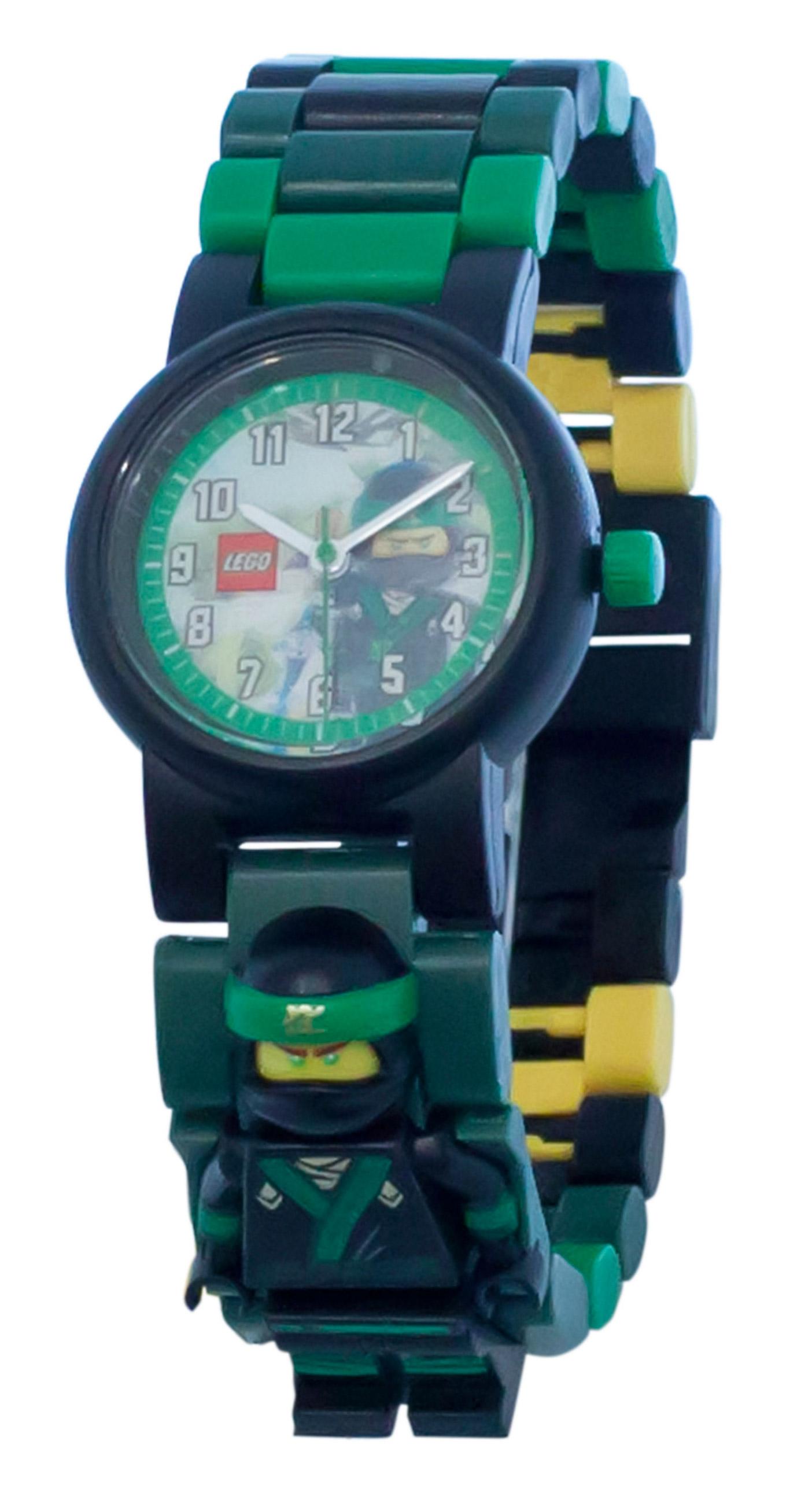 lego montres 5005370 pas cher montre bracelet figurine lloyd de lego ninjago le film. Black Bedroom Furniture Sets. Home Design Ideas