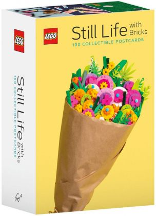LEGO Objets divers 5006207 LEGO Still Life with Bricks: 100 Cartes postales à collectionner