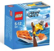 LEGO City 5621 Le kayakiste