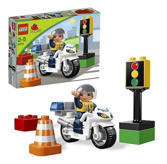 5679 la moto de police de duplo - Jeux de motos de police ...
