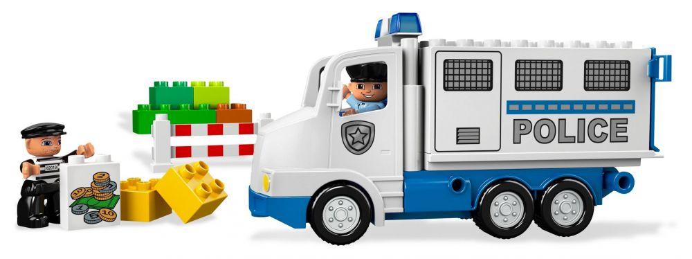Lego duplo 5680 pas cher le camion de police - Lego camion de police ...