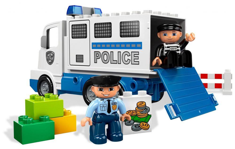 Lego duplo 5680 pas cher le camion de police - Lego camion police ...