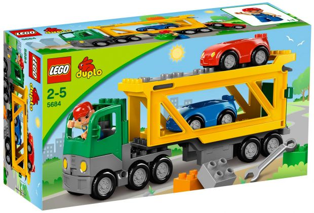 LEGO Duplo 5684 Le transport de voitures