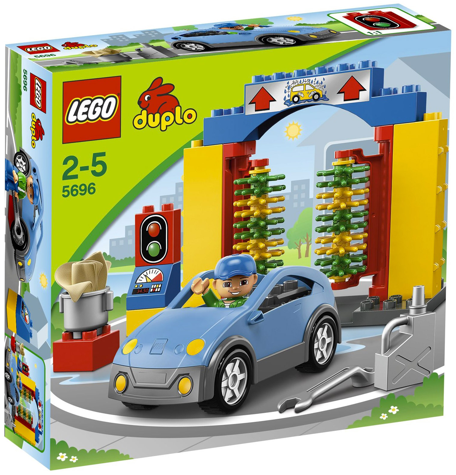 lego duplo 5696 pas cher la station de lavage. Black Bedroom Furniture Sets. Home Design Ideas