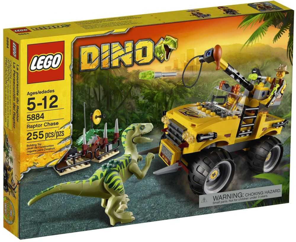 Lego Poursuite Vélociraptor La 5884 Du Dino 2YHEIWeDb9