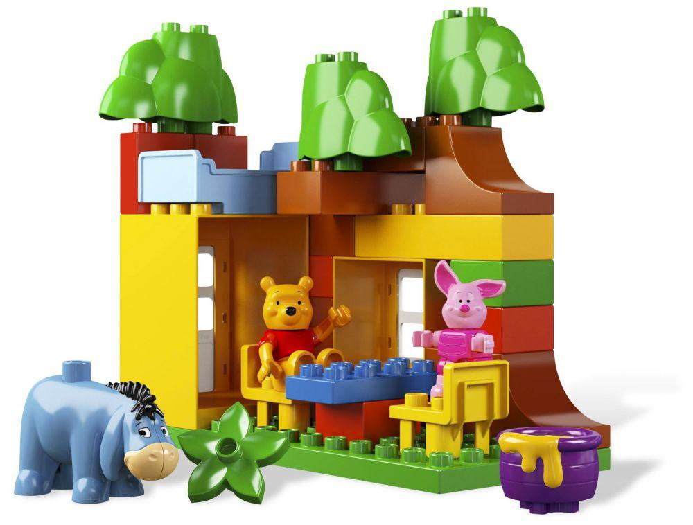 lego duplo 5947 pas cher la maison de winnie l 39 ourson. Black Bedroom Furniture Sets. Home Design Ideas
