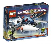 LEGO Space Police 5981 - La Capture de Rench pas cher