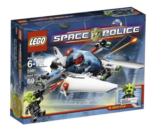 LEGO Space Police 5981 La Capture de Rench