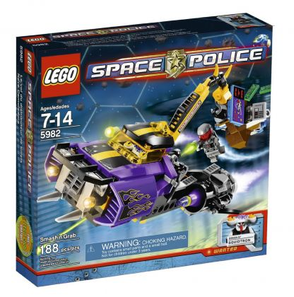 LEGO Space Police 5982 Le Vol du Distributeur de Billets