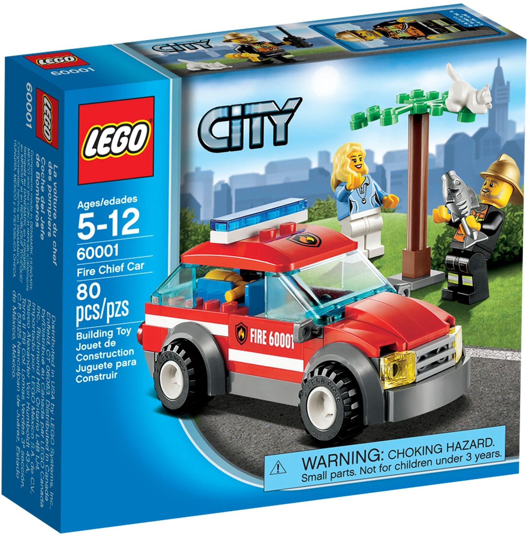 60001 – La Voiture du Chef des Pompiers de LEGO