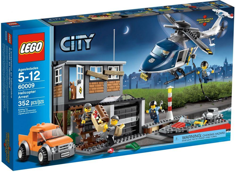 Lego City 60009 Pas Cher Lintervention De Lhélicoptère