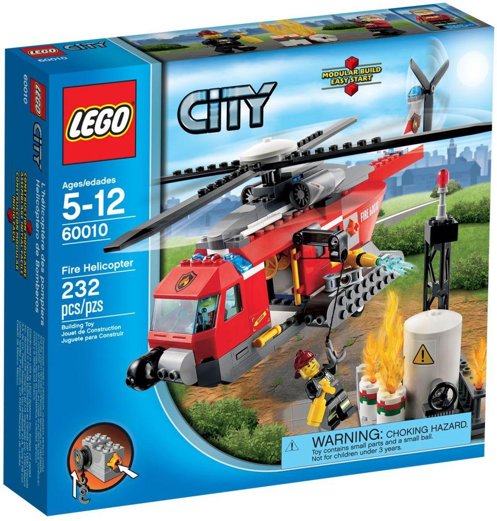 lego city 60010 lhlicoptre des pompiers - Lego City Pompier
