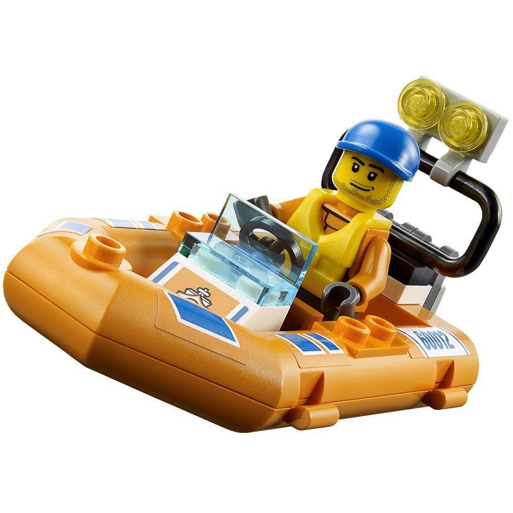 lego city 60012 pas cher le transporteur du bateau du garde c tes. Black Bedroom Furniture Sets. Home Design Ideas