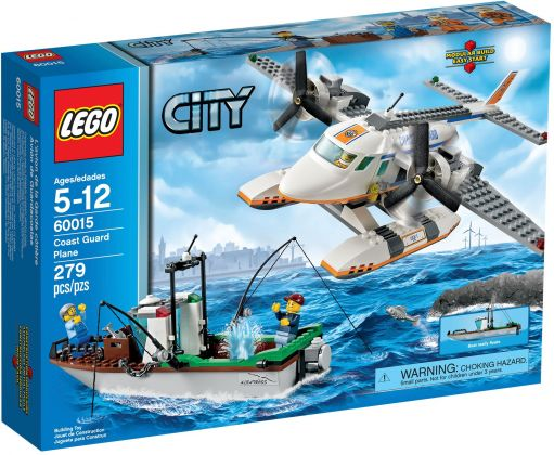 LEGO City 60015 L'avion des garde-côtes