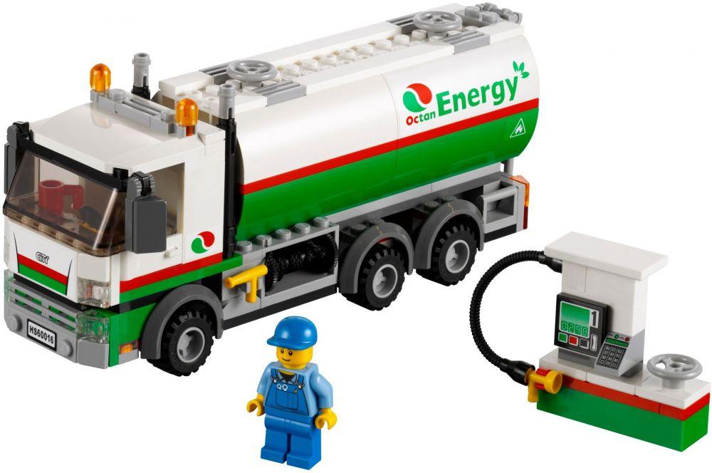 Lego city 60016 pas cher le camion citerne - Lego city camion police ...