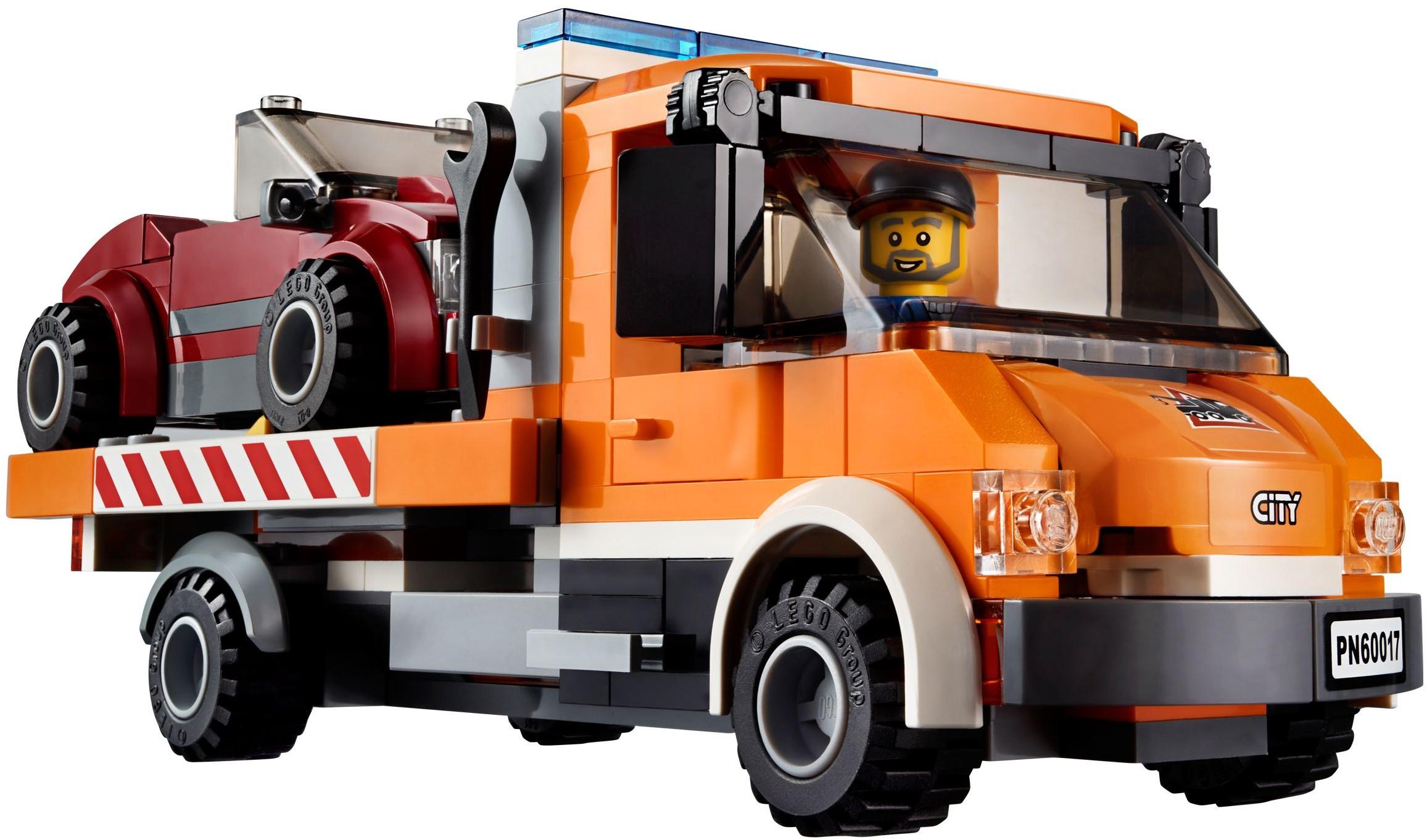 Lego city 60017 pas cher - Depanneuse cars ...