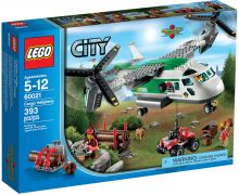 LEGO City 60021 L'avion cargo