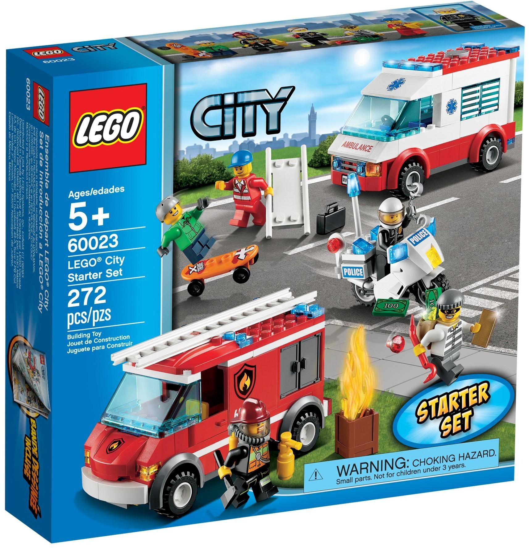 lego city 60023 pas cher ensemble de v hicules lego city. Black Bedroom Furniture Sets. Home Design Ideas