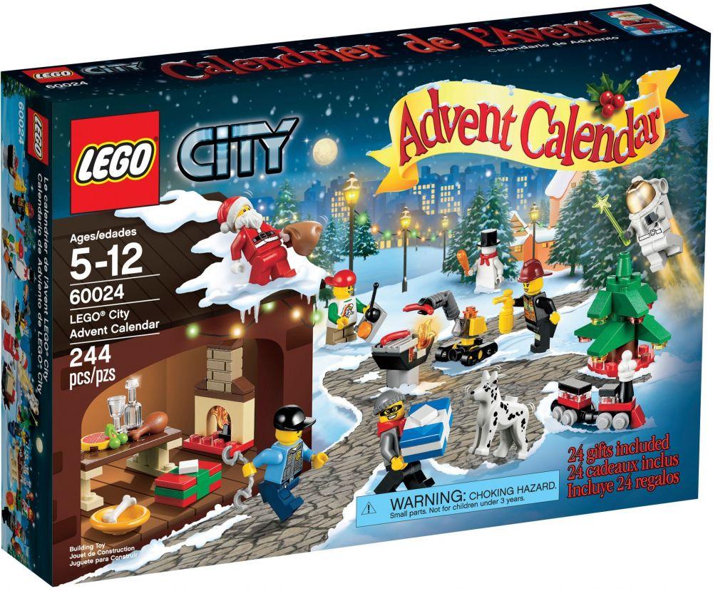 60024 De City Calendrier Saisonnier L'avent Le 2013 Lego dxeWrCBo