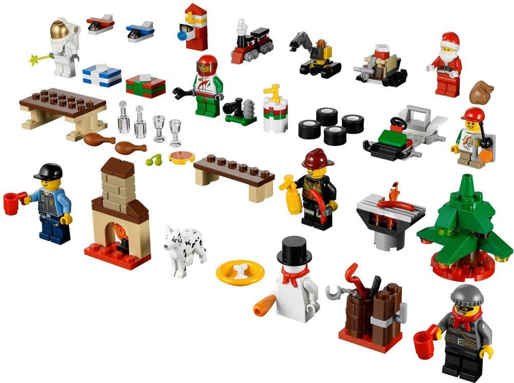 Calendrier City.Lego Saisonnier 60024 Le Calendrier De L Avent Lego City 2013