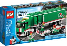 LEGO City 60025 Le camion du Grand Prix
