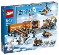 LEGO City 60036 Le camp de base arctique