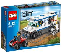 LEGO City 60043 Le transport du prisonnier
