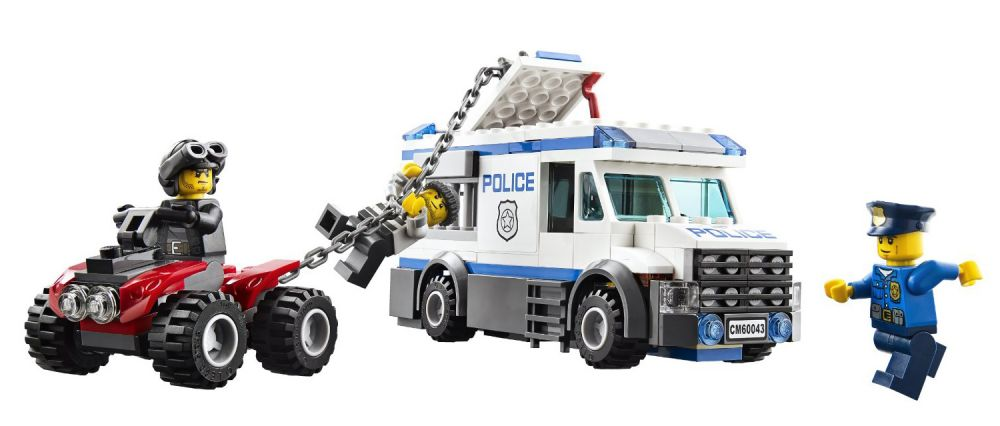 Lego City 60043 Le transport du prisonnier  Dès  Lego  Pickture