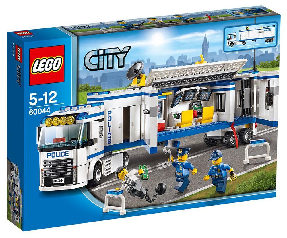 Lego city 60044 pas cher l unit de police mobile - Lego camion police ...