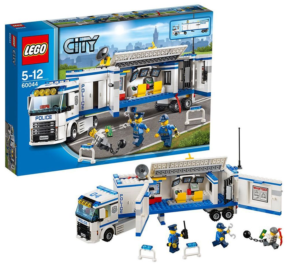 Lego city 60044 pas cher l unit de police mobile - Lego city police camion ...