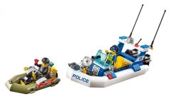 LEGO City 60045 L'intervention du bâteau de police