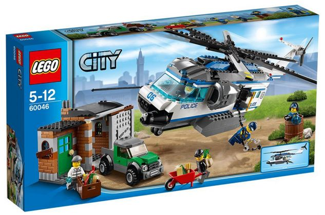 LEGO City 60046 L'intervention de l'hélicoptère en forêt