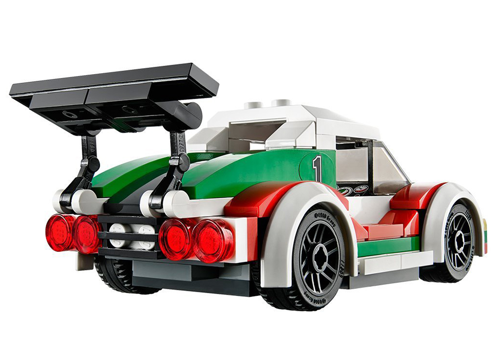 lego city 60053 pas cher la voiture de course. Black Bedroom Furniture Sets. Home Design Ideas
