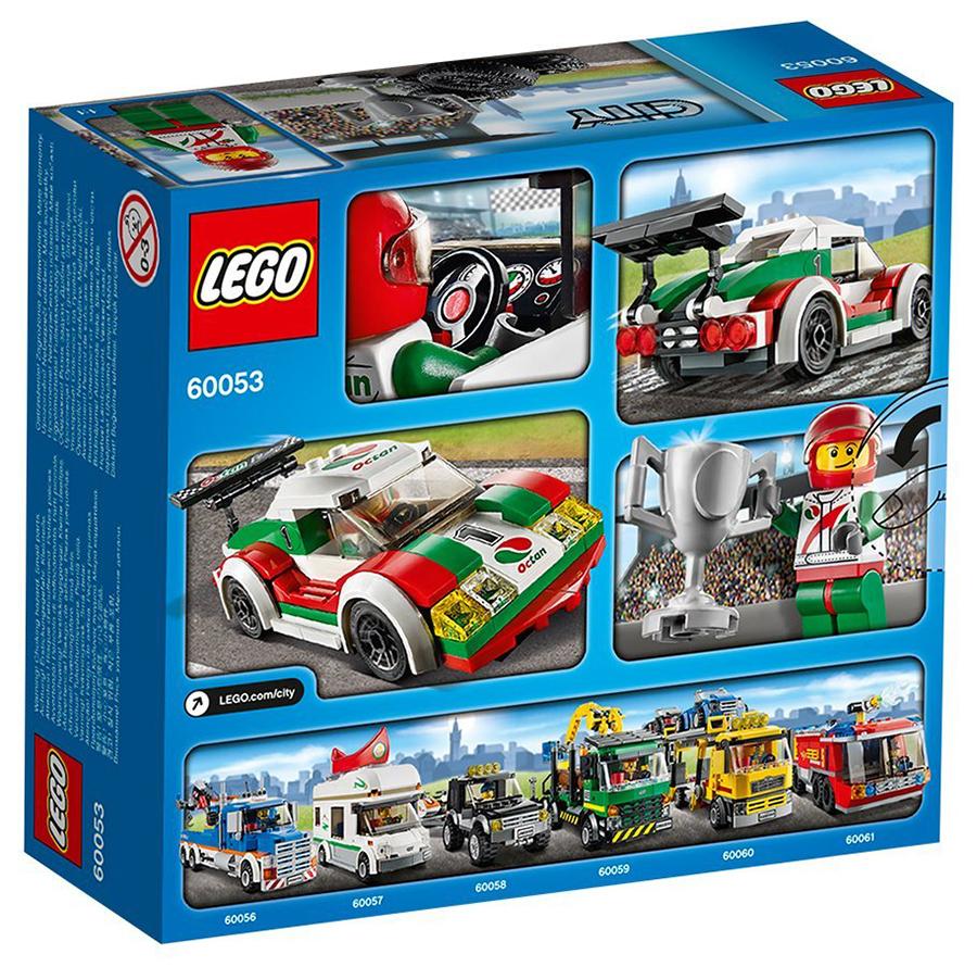 60053 la voiture de course de lego. Black Bedroom Furniture Sets. Home Design Ideas